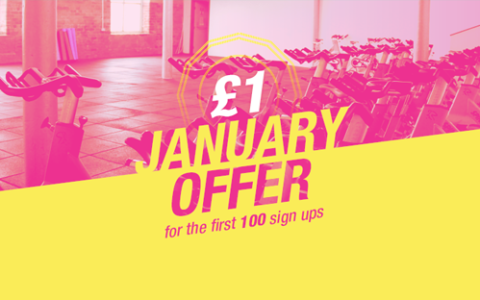 Join Bradford's Biggest Ladies Only Studio Gym This January And Get Your First Month For £1!