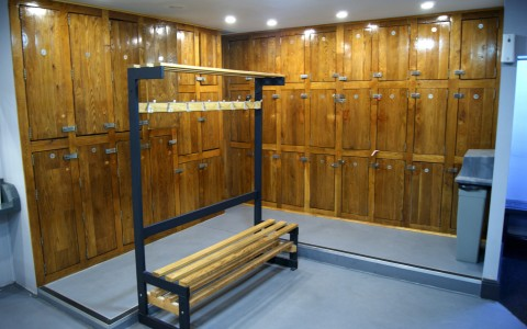 Listers Health Ladies Gym Bradford - Changing Room