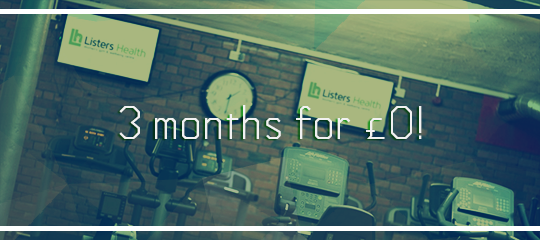 Ladies Gym in Bradford Listers Health pays for 3 months plan