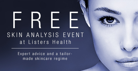 Free skin analysis event at Listers Health