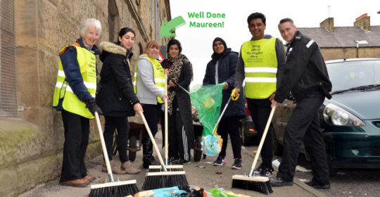 Bradford's Largest Ladies Studio Gym Organises Well-Anticipated Street Clean-Up