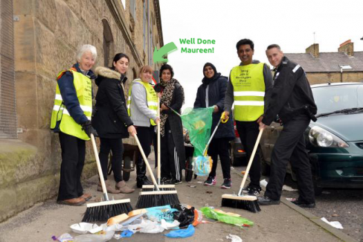 Lister Health Heaton Road Clean Up