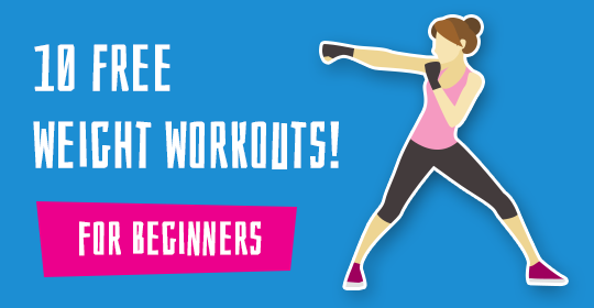 10 Free Weight Workouts For Beginners