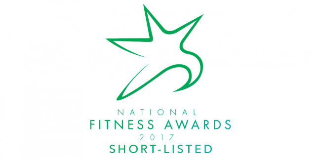 Listers Health Shortlisted National Fitness Awards 2017