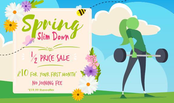 listers health spring slim down sale