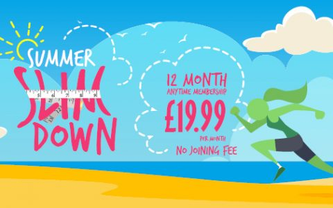 SUMMER IS HERE! Take advantage of our SUMMER SALE and pay NO JOINING FEE!