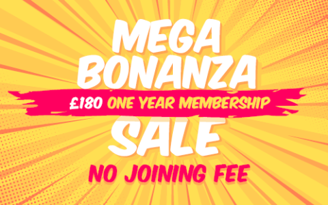 Our MEGA-BONANZA MEMBERSHIP SALE is here!
